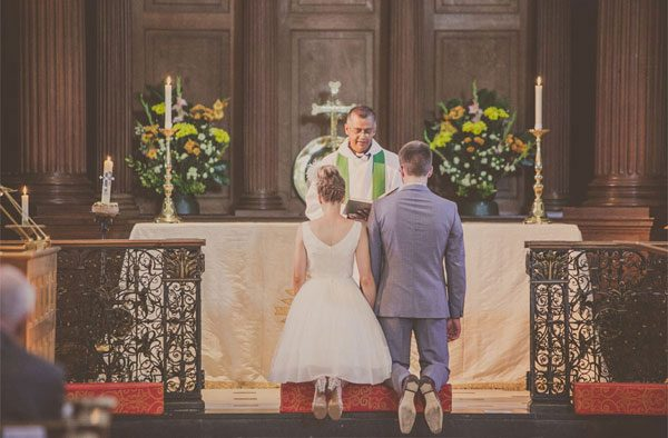 1950s Style Wedding at St. Alfege's Church