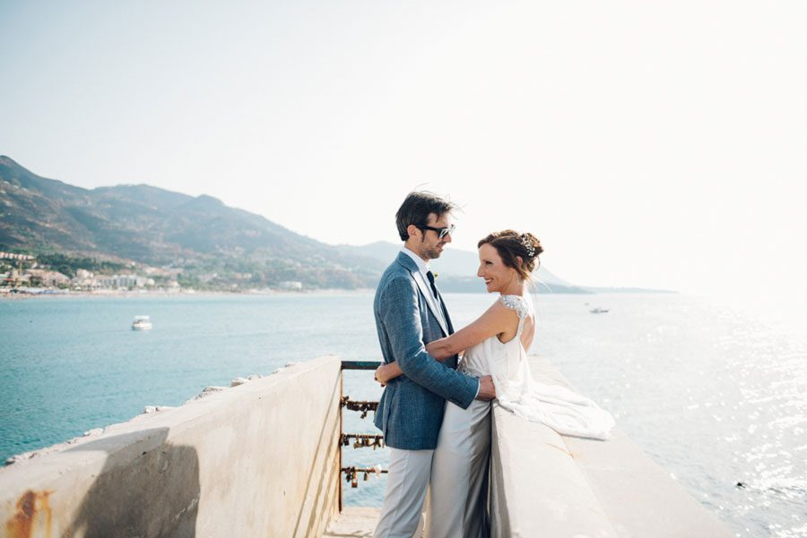 Beautiful Italian Town Wedding in Cefalu, Sicily