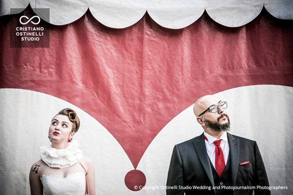 1950s Circus Wedding - Photos by Cristiano Ostinelli