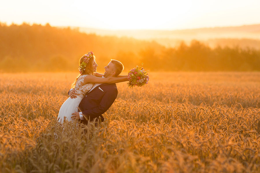 Bright Colourful Wedding Photography