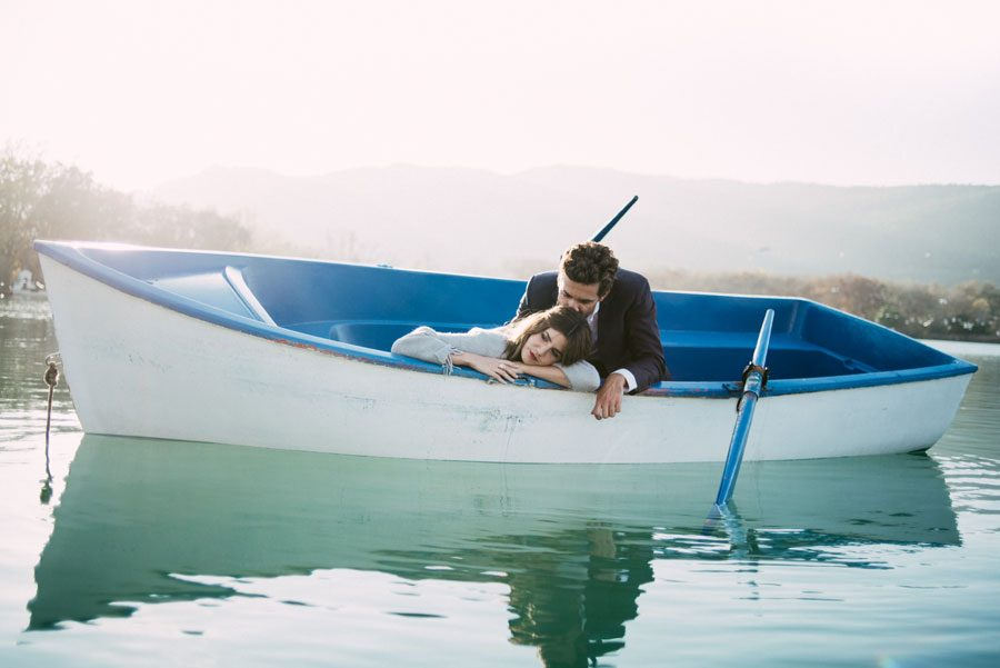 Gorgeous Boat Engagement Shoot