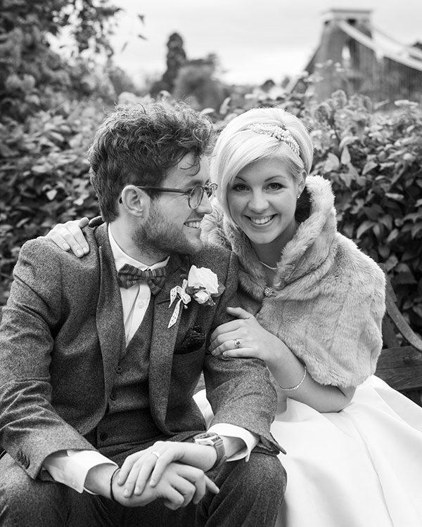 Autumn wedding in Bristol