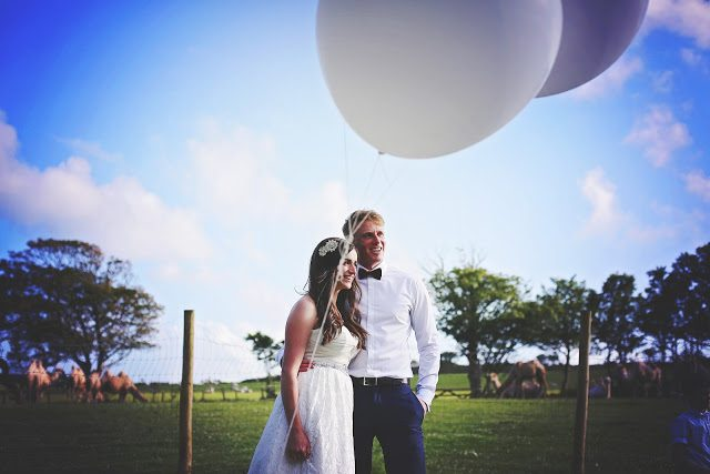 Beautiful Boho Wedding – Cornish Camels Farm