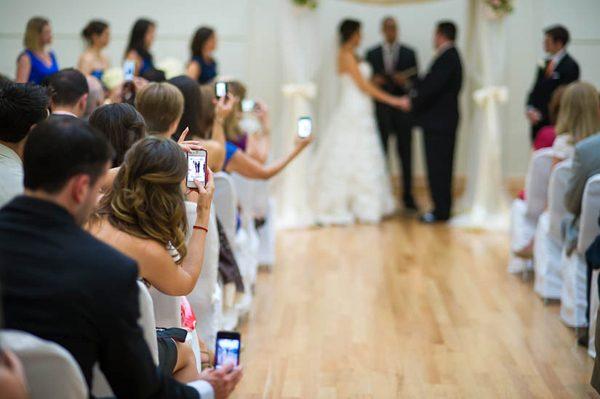Ban Camera Phones from Weddings
