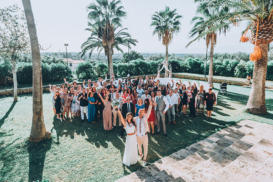 Beautiful Majorca Wedding