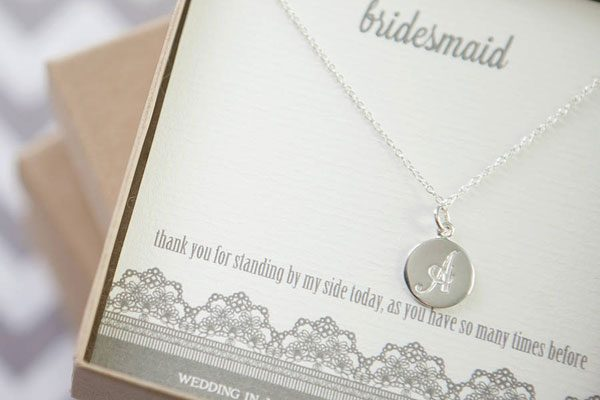 Bridesmaid's-Initial-Sterling-Silver-Necklace-by-WEDDING-IN-A-TEACUP