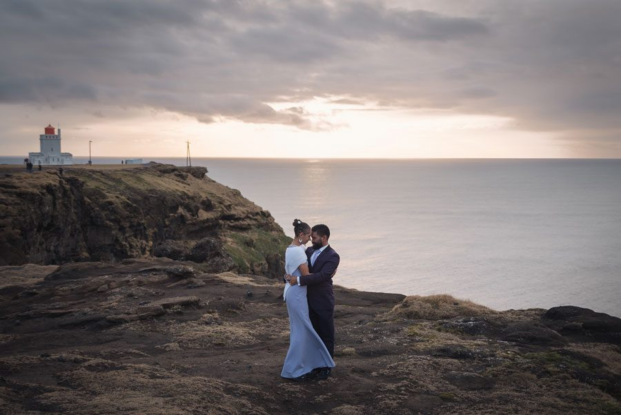 Elopement wedding in Iceland