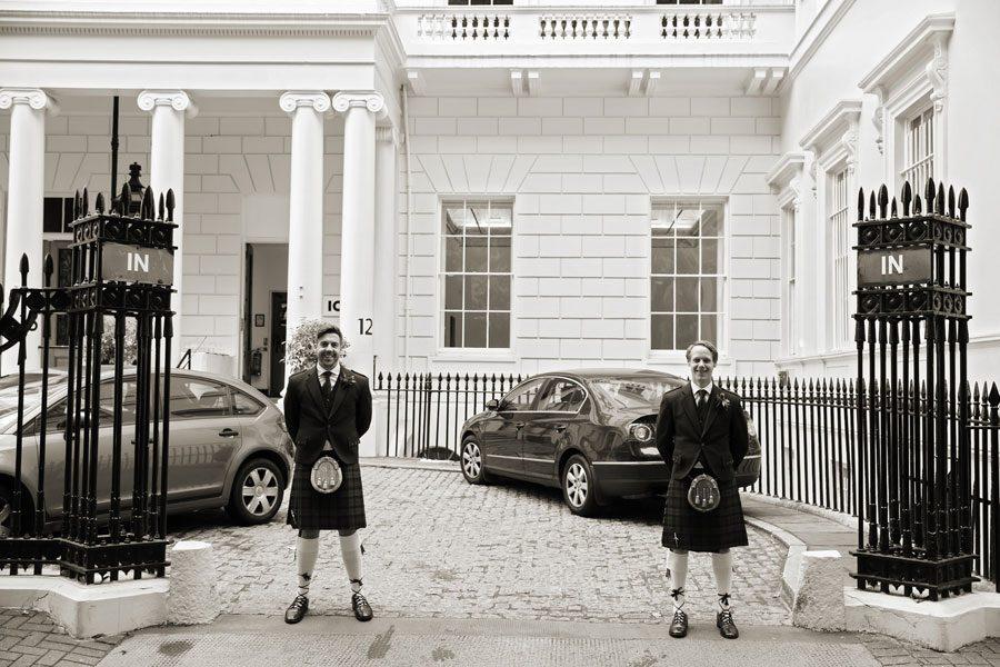 London venue, ICA Wedding Day