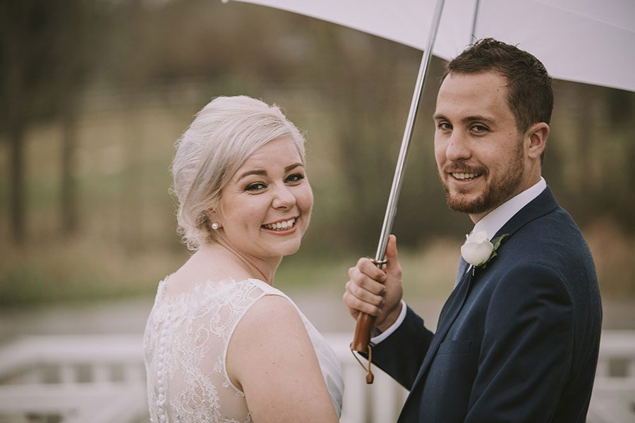 How to Make the Most of a Rainy Wedding Day
