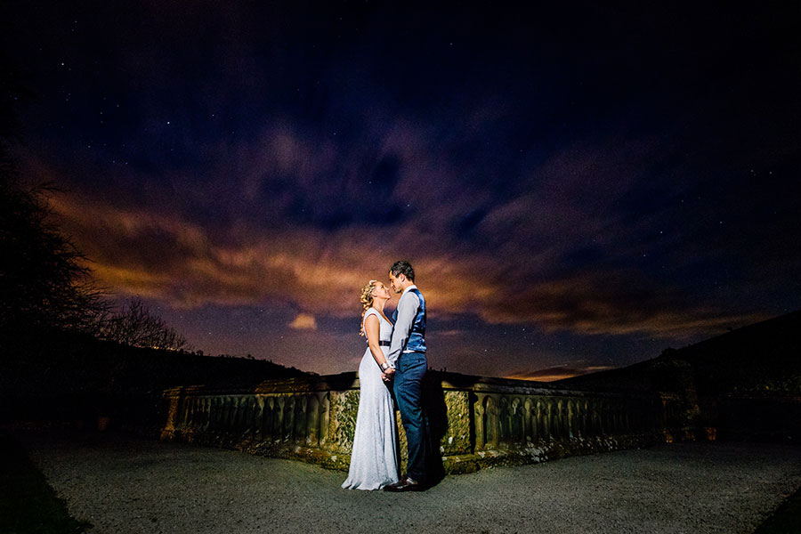 Cressbrook Hall Real Wedding