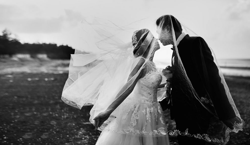 Contemporary wedding photography style