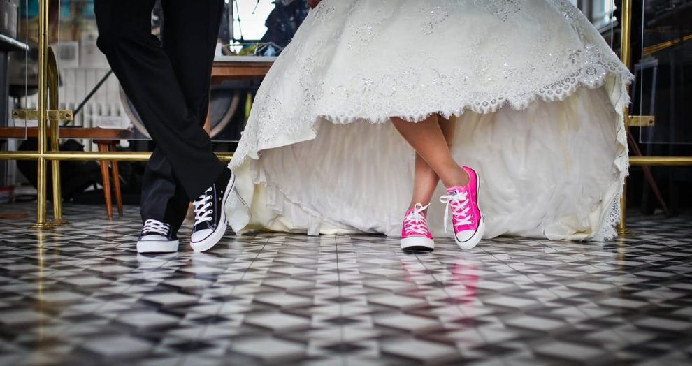 Converse Trainers at your Wedding? Oh YES!