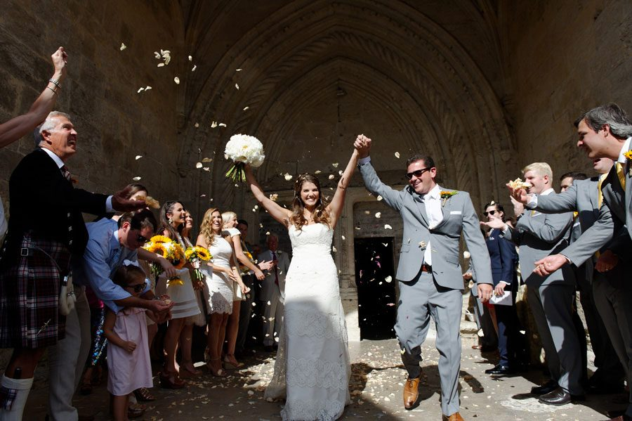 France Rural Countryside Wedding