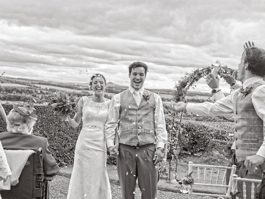 Clint Lodge, St Boswells Scotland, Wedding