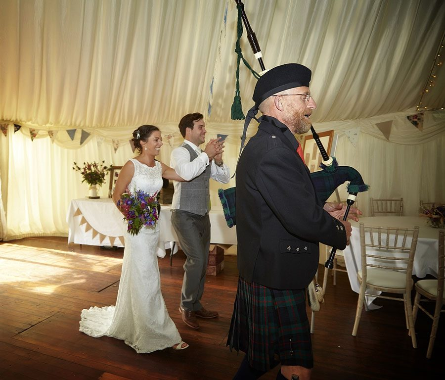 Clint Lodge, St Boswells Scotland, Wedding