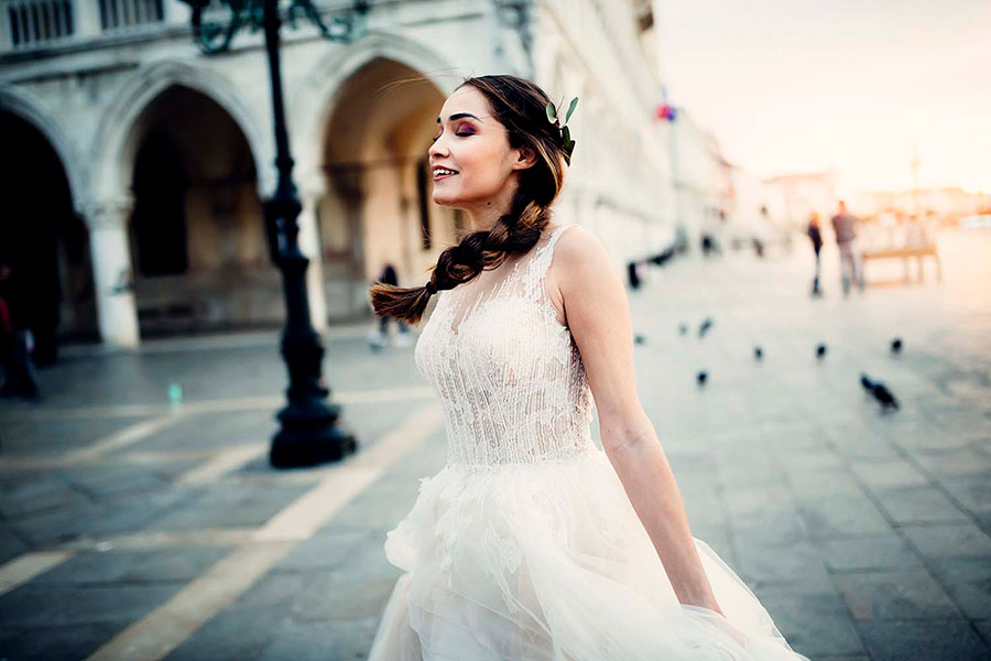Beautiful Elopement in Venice