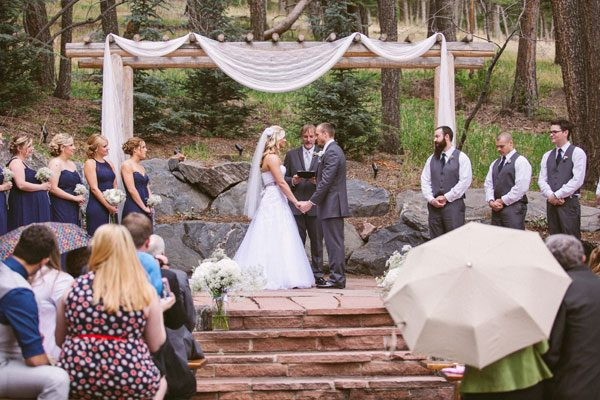 Beautiful Natural Woodland Wedding