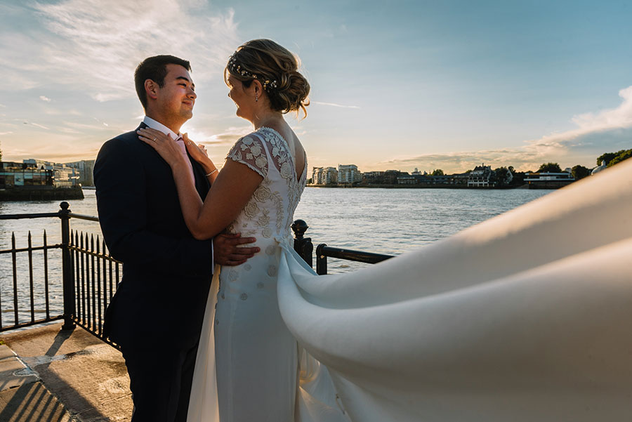 Sarah and Jon's Royal Navel College Wedding