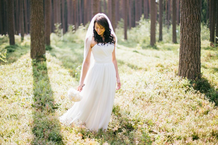 Beautiful Woodland Wedding