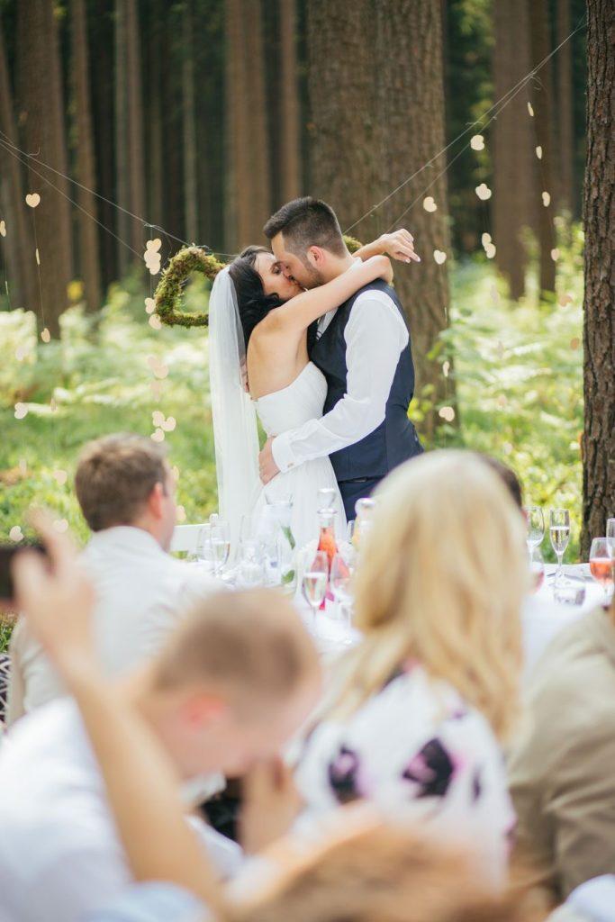 Beautiful Boho Woodland Wedding