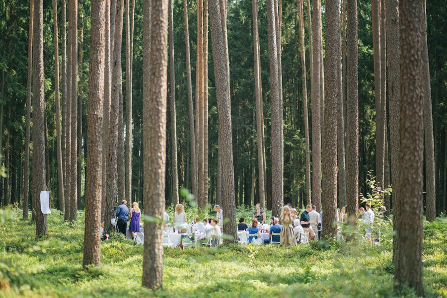 Beautiful Boho Woodland Wedding