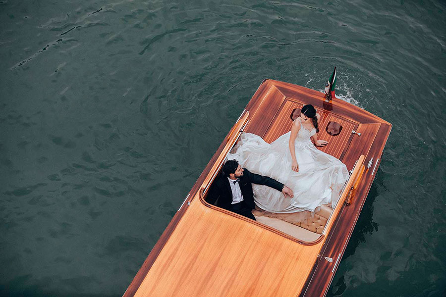Elopement in Venice, Italy