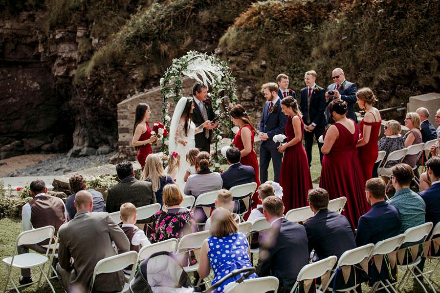 Welsh Beach Wedding