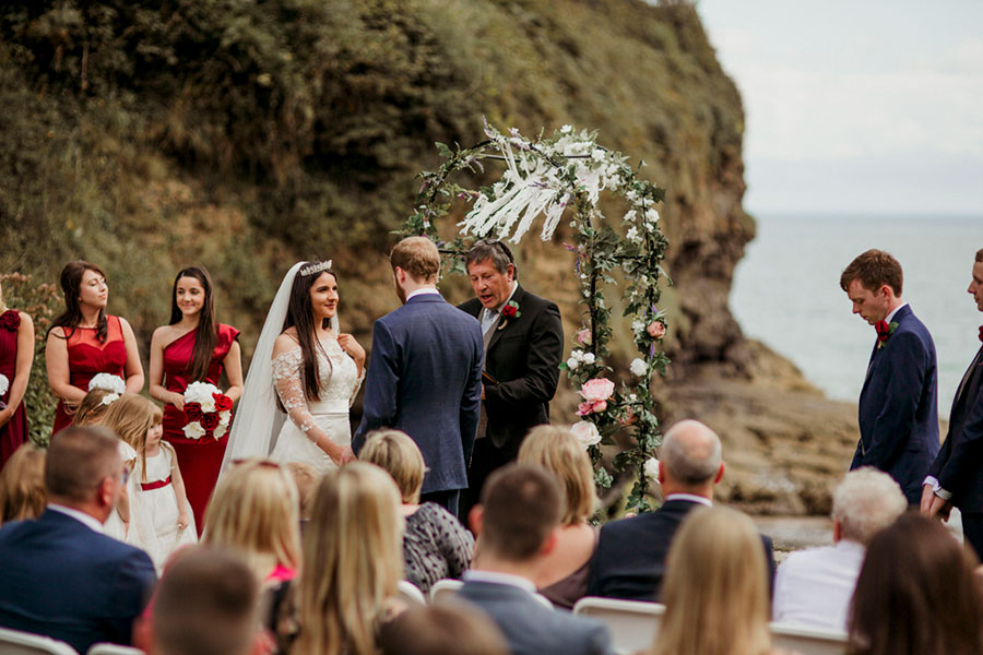 Welsh Beach Wedding