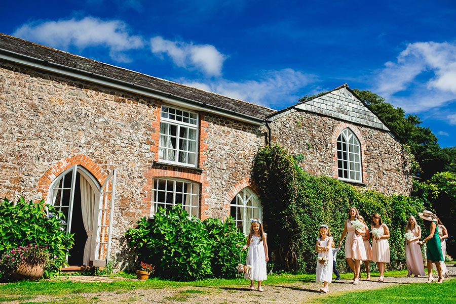 The Old Rectory Wedding in Devon