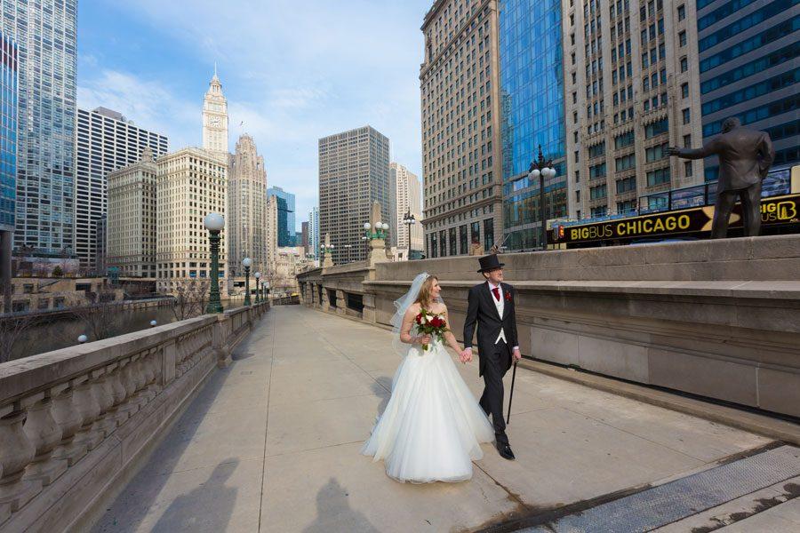 Wedding of Jon and Lori in Chicago