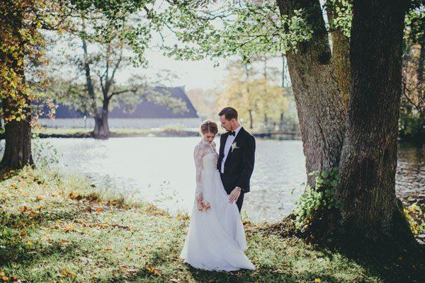 Stina & Alexander's Elegant and Relaxed Wedding