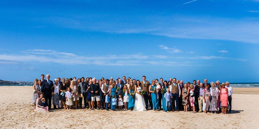 St Ives, Lelant Beach Wedding