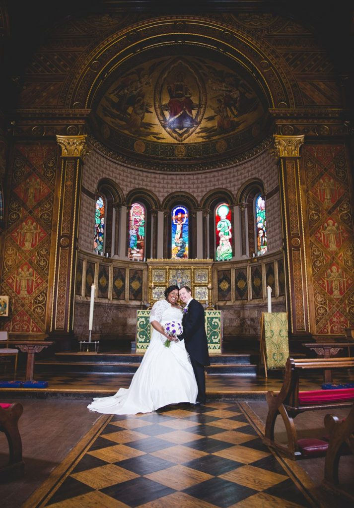 Hilton Bankside and Kings College London Wedding