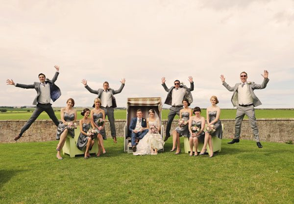 Newton Hall Wedding  012