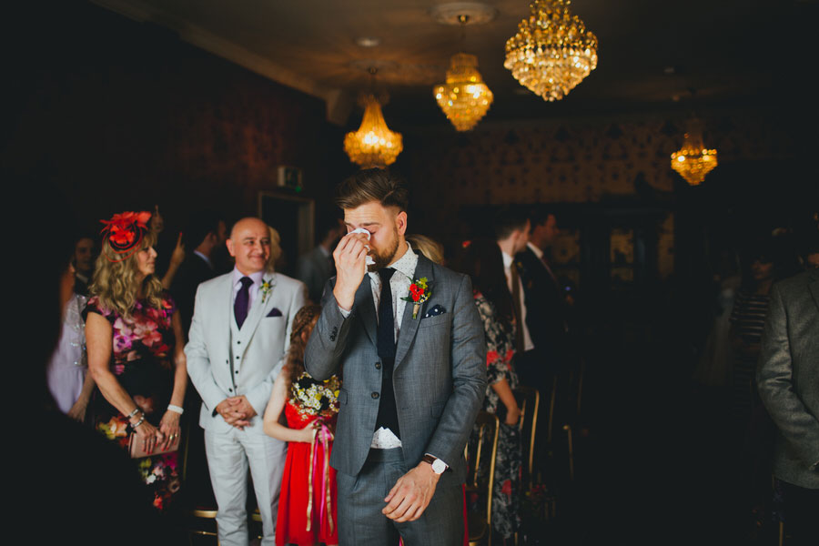 Emotions of a Wedding Day