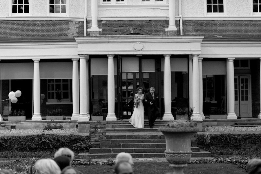 Sunken Garden Wedding at Cannizaro House