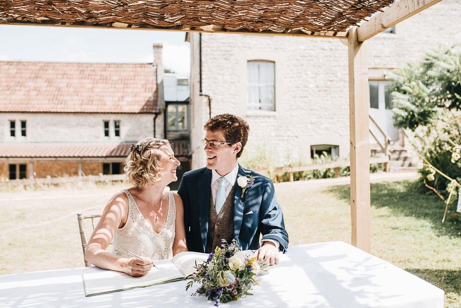Folly Farm Wedding