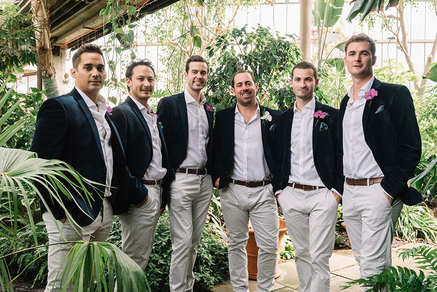 Barbican Conservatory Jungle Wedding