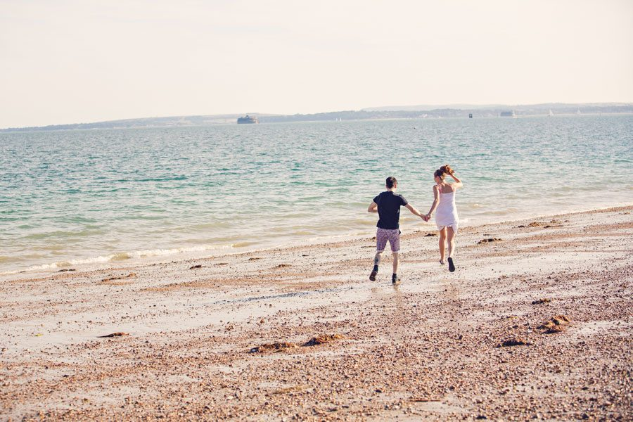 Engagement Shoot at Southsea, Portsmouth