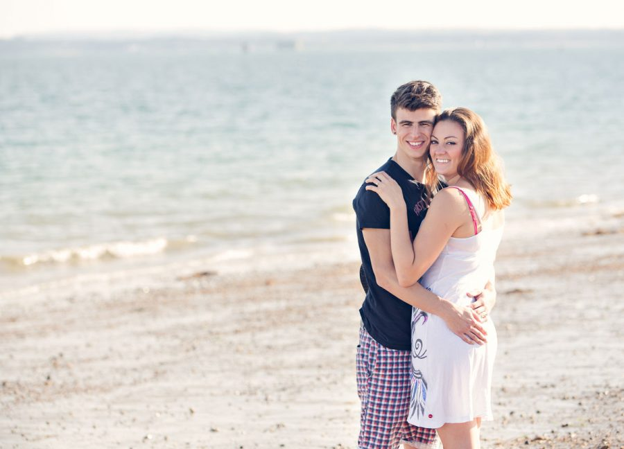 Rachel & Shauns Engagement Shoot at Southsea, Portsmouth