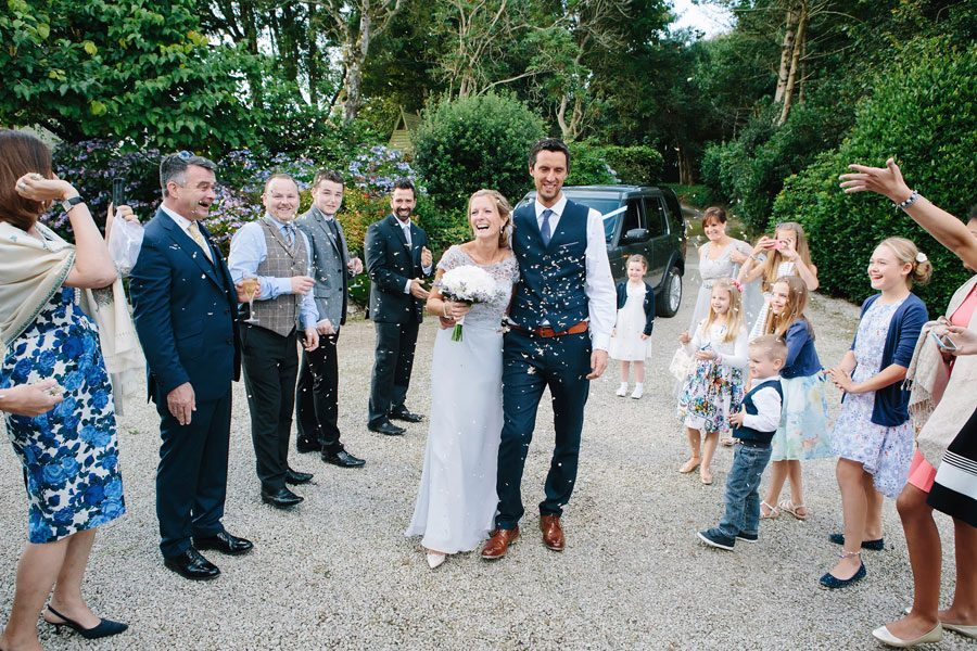 Ross & Sarah's Cornwall Wedding