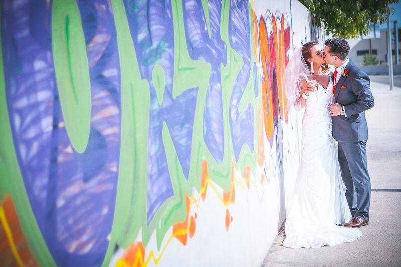 Colourful Barcelona Wedding