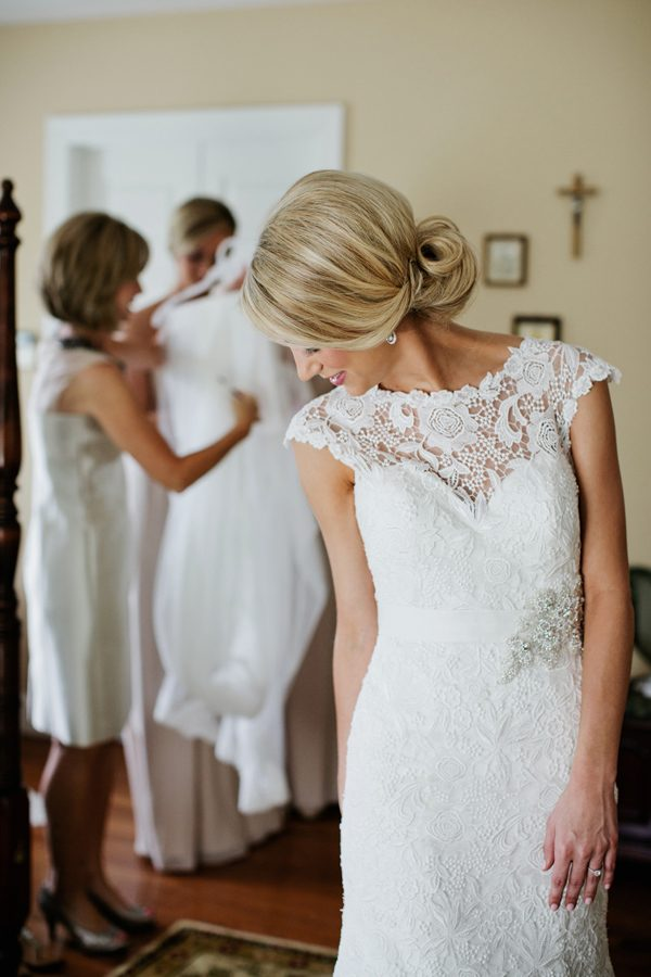 Beautiful Lace Wedding Allure Bridal Dress from Simply Elegant Bridal