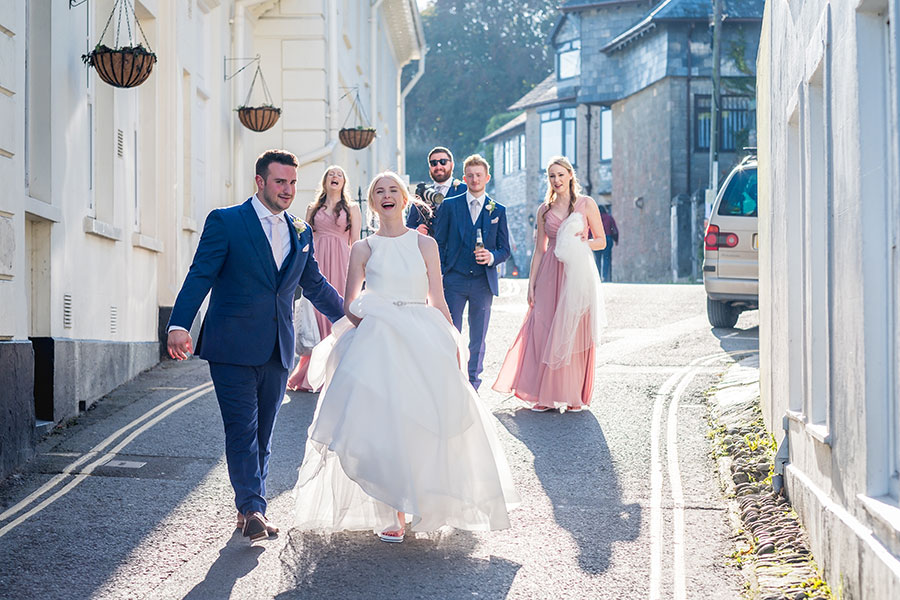 Salcome Harbour Hotel Wedding