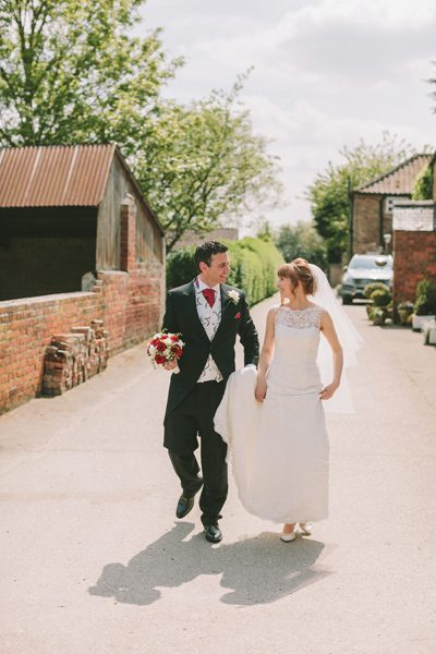 English Country Rose Wedding in Tickton, East Yorkshire 01