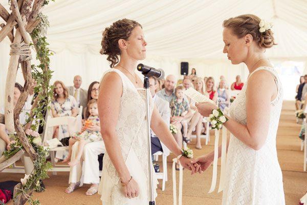 Suzy & Michelle's Bournemouth Beach Wedding