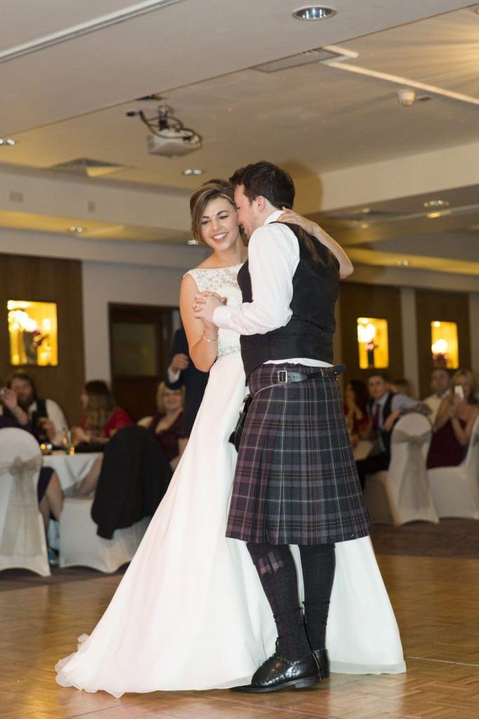 Gailes Hotel in Ayrshire Wedding