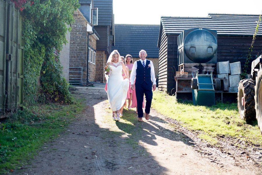 Family Farm Wedding