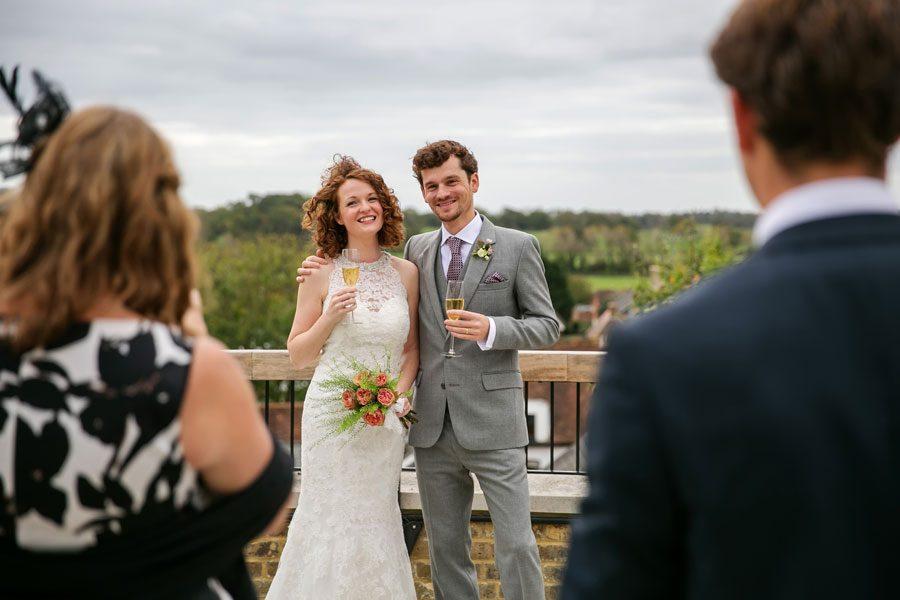 Wedding in the Sussex Market Town of Arundel