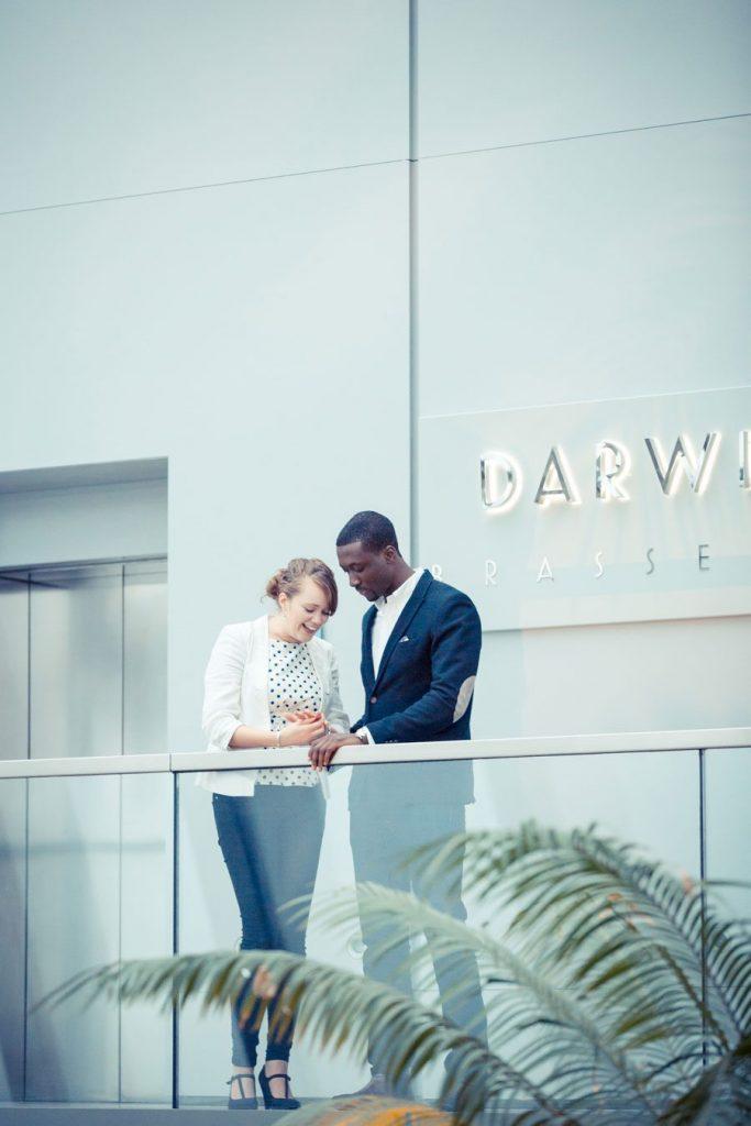 Sky Garden Wedding Proposal
